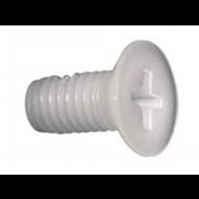 Metric Coarse Phillips Countersunk Head Machine Screw Nylon-66 DIN965