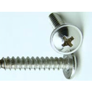 Metric Phillips Flange Pan Head Self Tapping Screw B Stainless-Steel-A2 DIN968FH