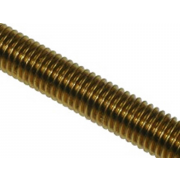 Left Hand Metric Coarse Allthread Threaded Rod Brass DIN975