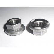 Metric Coarse Hexagon Flange Weld Nut Steel DIN977