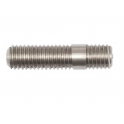 Metric Coarse Engineers Stud Metal End =1.1/2 D Steel B18.31M