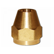 Metric Coarse Flared Nut Brass