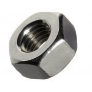 Left Hand UNC Hexagon Full Nut SAE-5(8.8) B18.2.2