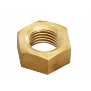 Metric Coarse Hexagon Full Nut Brass DIN934