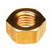 Metric Coarse Hexagon Full Nut Copper DIN934