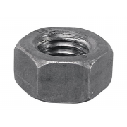 Left Hand UNF Hexagon Heavy Nut Mild Steel A-A563 B18.2.2