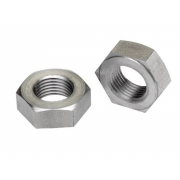 Left Hand UNF Hexagon Heavy Lock Nut SAE-5(8.8) B18.2.2