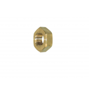 Metric Coarse Hexagon Lock Nut Brass DIN439B