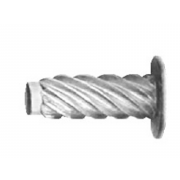 Metric Flat Hammer Drive Screw 'U' Steel