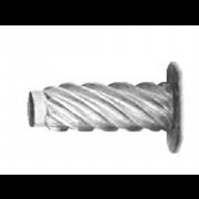 Metric Flat Hammer Drive Screw 'U' Steel