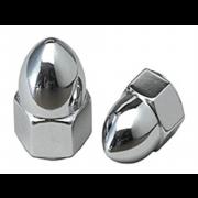 Metric Coarse Domed Acorn Hexagon Nut High Crown Class-6
