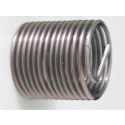Metric Coarse Helicoil type Wire Thread Inserts Free Running Steel