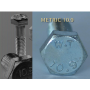 Metric Fine Hexagon Head Set Screw Fine Pitch Grade-10.9 DIN961