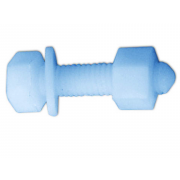 Metric Coarse Hexagon Head Bolt  Nylon-66 DIN931