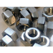 Metric Coarse Hexagon Full Nut Titanium DIN934