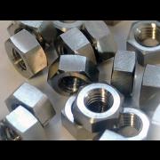 Metric Coarse Hexagon Full Nut Titanium DIN934