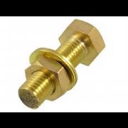 Metric Coarse Hexagon Head Set Screw  Bronze DIN933