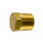 Metric Hexagon Head Taper Pipe Plug Brass