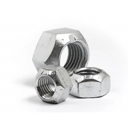 UNC All Metal Self Locking Nut Steel IFI100107