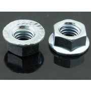 UNC Serrated Hexagon Flange Nut Stainless-Steel IFI145