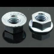 UNC Serrated Hexagon Flange Nut Stainless-Steel IFI145