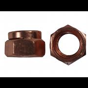 UNC Hexagon Manifold Locking Nut Copper