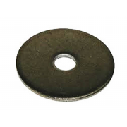 Inch Inch Mudguard Penny Washer Steel