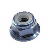 Metric Coarse Nylon Insert Flange Self Locking Nut Steel