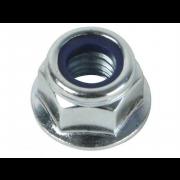 UNC Nylon Insert Flange Self Locking Nut Steel B18.16.3M