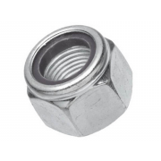 UNC Nylon Insert Self Locking NM Machine Screw Nut Steel C-A563