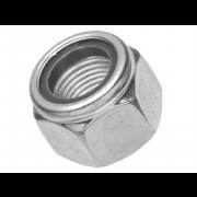 UNC Nylon Insert Self Locking NM Machine Screw Nut Steel C-A563