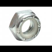 UNC Nylon Insert Self Locking NTU Thin Nut Stainless-Steel C3-A563