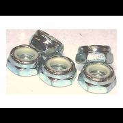 UNC Nylon Insert Self Locking NTM Very Thin Machine Screw Nut Stainless-Steel C3-A563