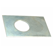 Metric Rectangular Shim Washer Steel
