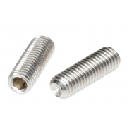 Metric Coarse Socket Set Screw Cup Point Stainless-Steel-A2 DIN916