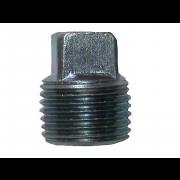 Metric External Square Head Pipe Plug Steel