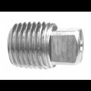 Metric External Square Head Pipe Plug Stainless-Steel