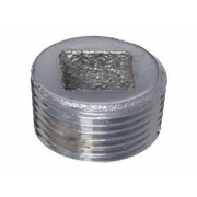 Metric Internal Square Head Pipe Plug Steel