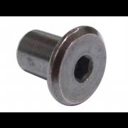 Metric Coarse Flat Head Hexagon Socket Sleeve Barrel Connector Nut Steel sex nut