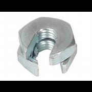 UNC Slip On Lock Nut  Stainless-Steel
