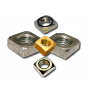 UNC Square Machine Screw Nut Stainless-Steel-A2 B18.6.3