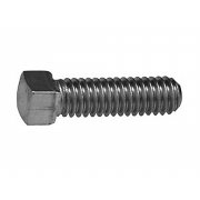 UNC Square Head Set Screw Flat Pt Case Hardened Steel B18.6.2