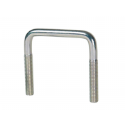 Metric Coarse U' Bolt Square Bend Steel