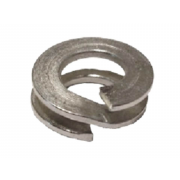 Metric Double Coil Rectangular Section Spring Washer Spring-Steel BS4464