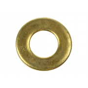 Metric Form B Flat Washer Brass BS4320