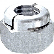 BSW Whitworth Aerotight All Metal Locking Nut Thick Steel