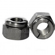 UNC Aerotight All Metal Locking Nut Thin Steel