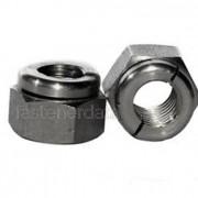 UNC Aerotight All Metal Locking Nut Thin Steel