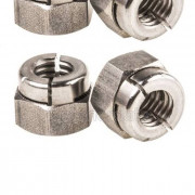 BSW Whitworth Aerotight All Metal Locking Nut Thin Steel