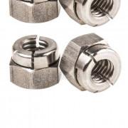 BSW Whitworth Aerotight All Metal Locking Nut Thin Steel